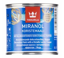 Миранол медь декоративная краска  (0,1л)